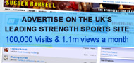 Powerlifting Advertising. Strongman Advertising.