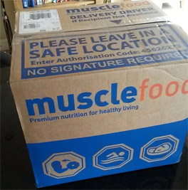 MuscleFood Delivery Box
